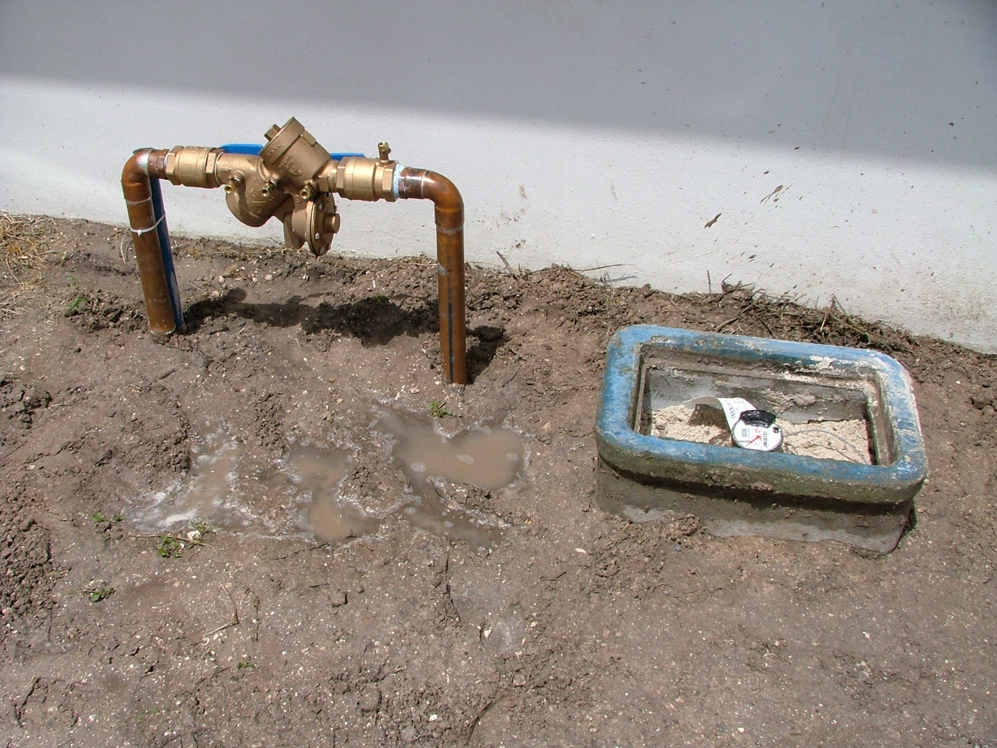 Example of Professionally Installed Backflow Preventer
